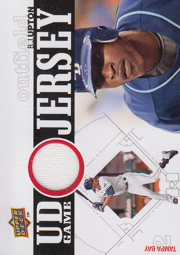 Photo of 2010 Upper Deck UD Game Jersey #BU B.J. Upton