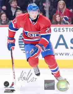 Alex Galchenyuk - Signed 8x10 Montreal Canadiens Photo