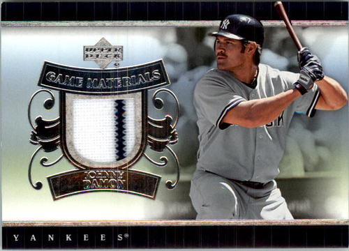 Photo of 2007 Upper Deck UD Game Materials #JD Johnny Damon S2