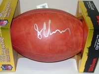 NFL - BROWNS SHON COLEMAN SIGNED AUTHENTIC FOOTBALL