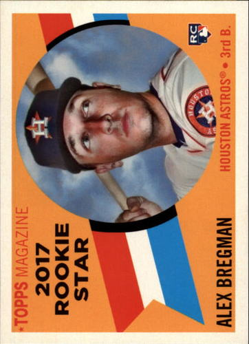 Photo of 2017 Topps Archives '60 Rookie Stars #RS10 Alex Bregman