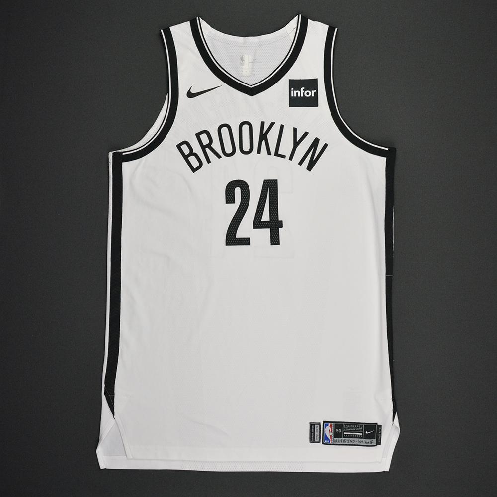 Rondae Hollis-Jefferson - Brooklyn Nets - Kia NBA Tip-Off 2017 - Game-Worn 1st Half Only Jersey