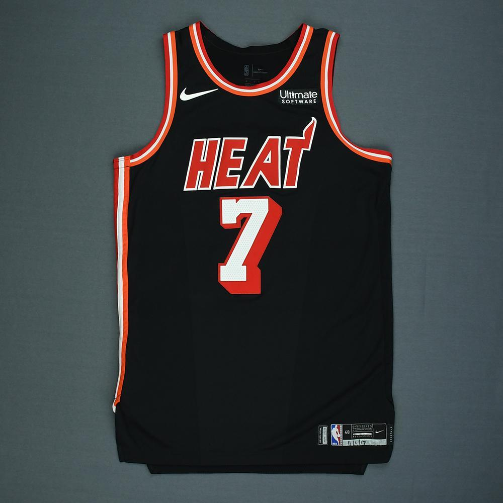 Goran Dragic - Miami Heat - Game-Worn Classic Edition 1988-99 Road Jersey - 2017-18 Season