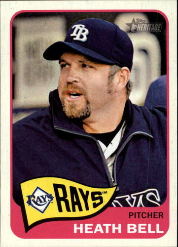 Photo of 2014 Topps Heritage #71 Heath Bell