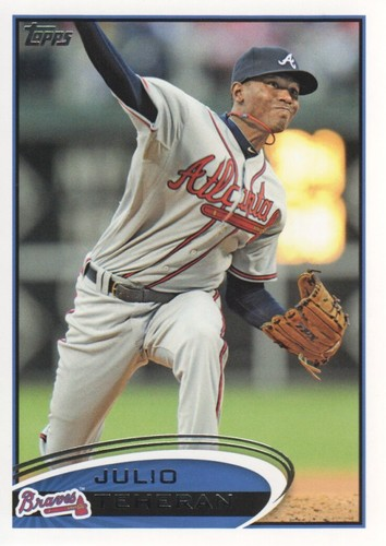 Photo of 2012 Topps #352 Julio Teheran