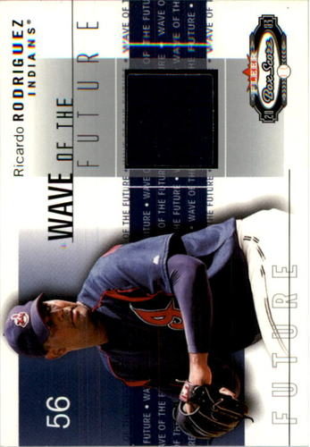 Photo of 2003 Fleer Box Score Wave of the Future Game Used #RC Ron Calloway Jsy