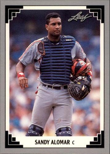 Photo of 1991 Leaf Previews #17 Sandy Alomar Jr.