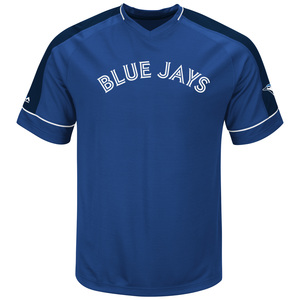 Big & Tall Lead Hitter T-Shirt Royal by Majestic