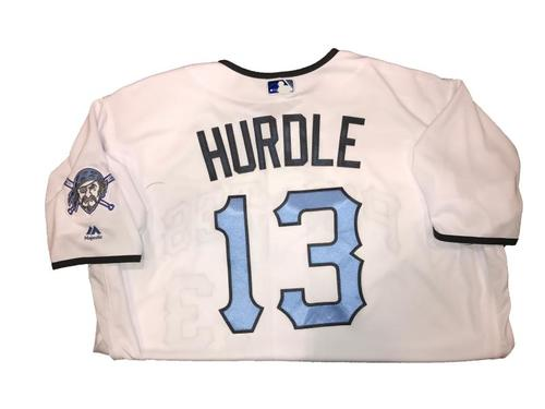 Photo of Clint Hurdle Game-Used Father's Day Weekend Jersey - Worn on 6/17 & 6/18