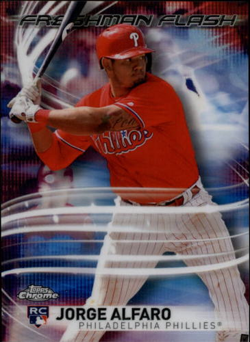 Photo of 2017 Topps Chrome Freshman Flash #FF7 Jorge Alfaro
