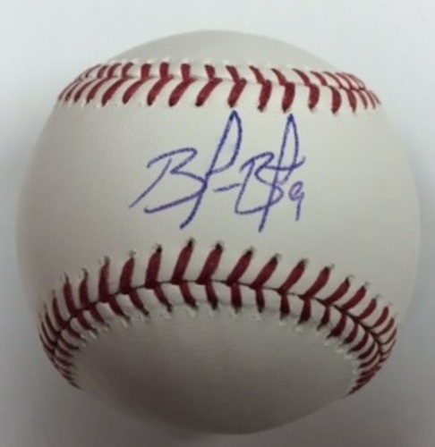 Photo of Brandon Belt Autographed Baseball