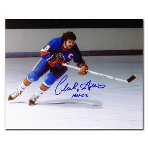 Clark Gillies New York Islanders BREAKOUT Autographed 8x10