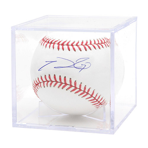Photo of Texas Rangers Prince Fielder Autographed Baseball