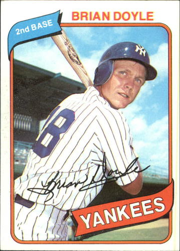 Photo of 1980 Topps #582 Brian Doyle