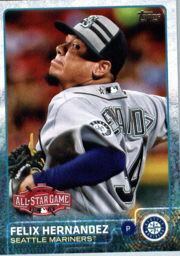 Photo of 2015 Topps Update #US123 Felix Hernandez