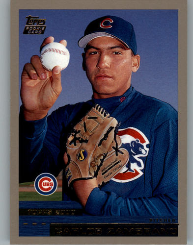 Photo of 2000 Topps Traded #T29 Carlos Zambrano RC