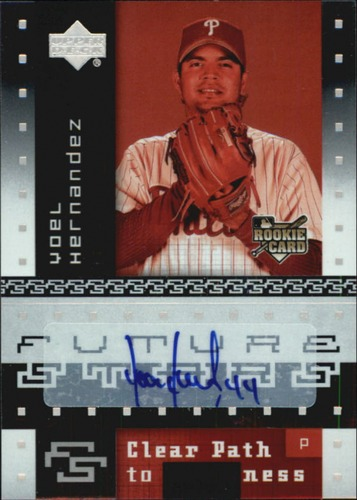 Photo of 2007 Upper Deck Future Stars #180 Yoel Hernandez AU RC