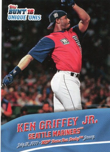 Photo of 2016 Topps Bunt Unique Unis #UU5 Ken Griffey Jr.
