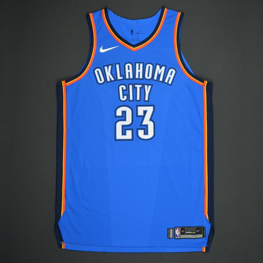 Terrance Ferguson - Oklahoma Thunder - 2017 NBA Draft - Autographed Jersey