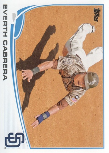 Photo of 2013 Topps #412 Everth Cabrera