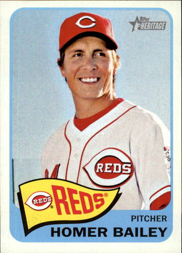 Photo of 2014 Topps Heritage #72 Homer Bailey