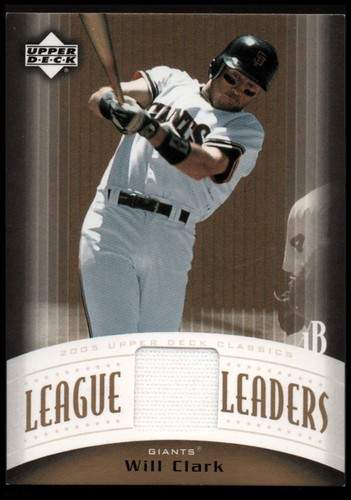Photo of 2005 Upper Deck Classics League Leaders Materials #WC Will Clark Pants