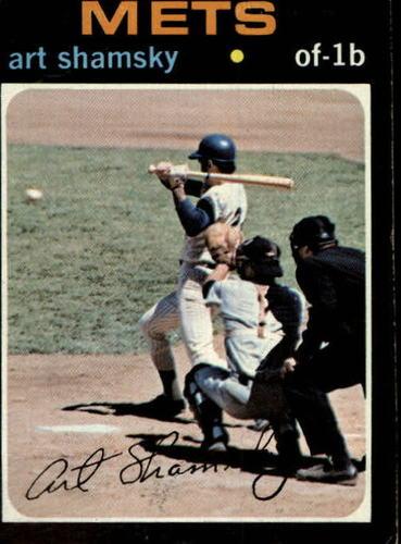 Photo of 1971 Topps #445 Art Shamsky