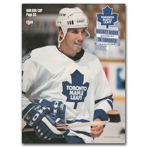 1995 Toronto Maple Leafs Game Program