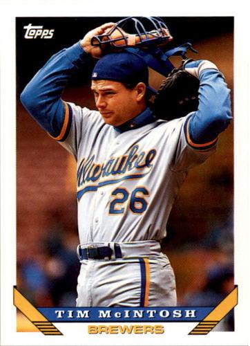 Photo of 1993 Topps #234 Tim McIntosh