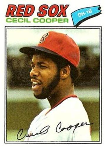Photo of 1977 Topps #235 Cecil Cooper