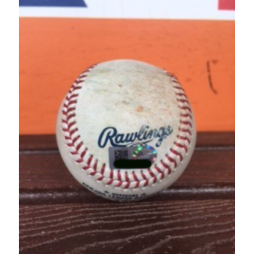 Photo of Bryce Harper Game-Used Baseball - 2 Run Homerun (Career #139)