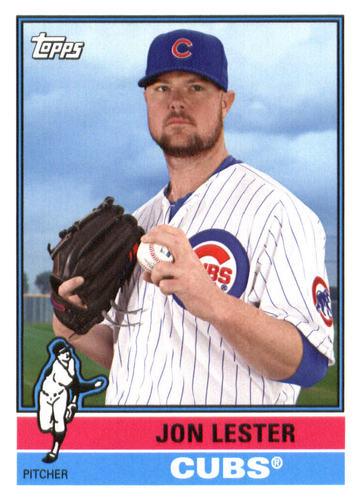 Photo of 2015 Topps Archives #169 Jon Lester Cubs post-season