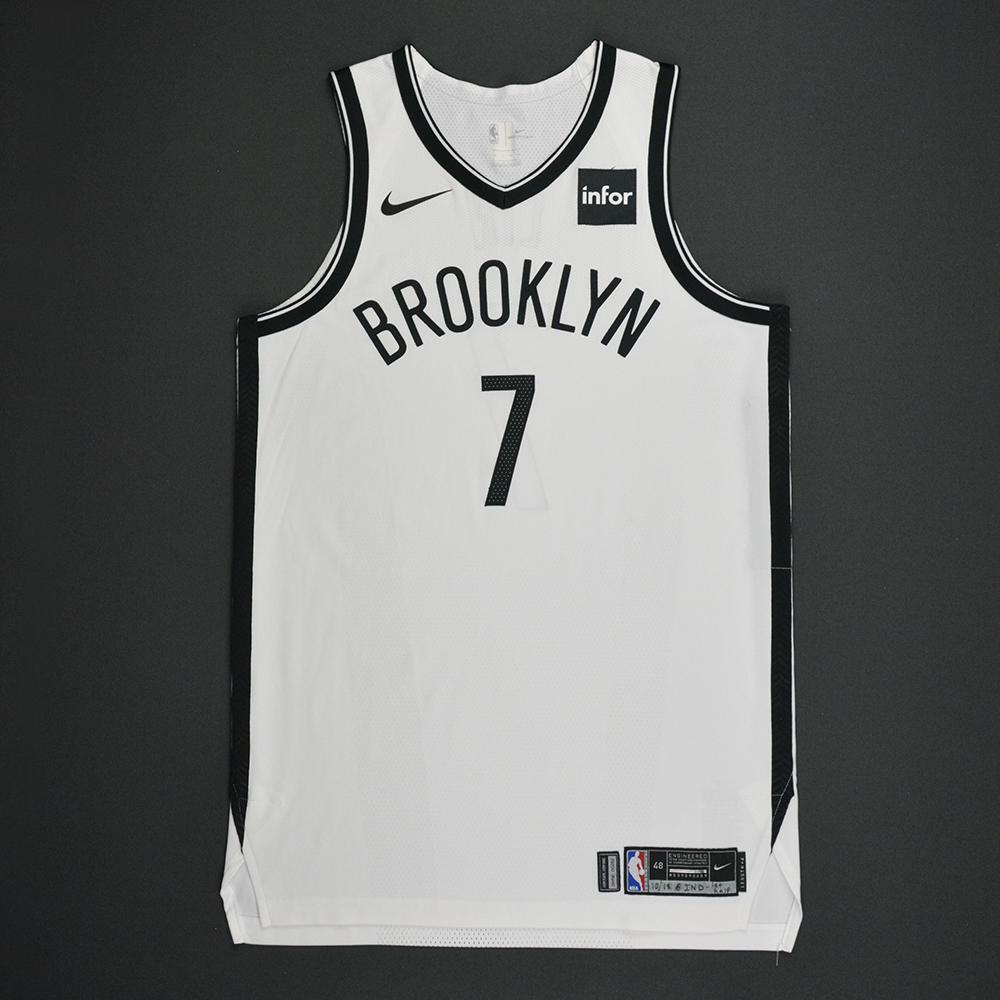 Jeremy Lin - Brooklyn Nets - Kia NBA Tip-Off 2017 - Game-Worn 1st Half Only Jersey