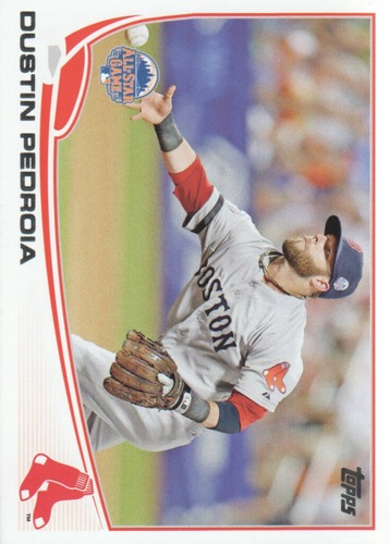 Photo of 2013 Topps Update #US114A Dustin Pedroia