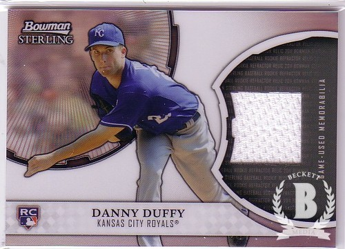 Photo of 2011 Bowman Sterling Rookie Relics #DD Danny Duffy