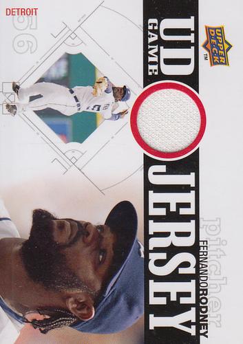 Photo of 2010 Upper Deck UD Game Jersey #FR Fernando Rodney