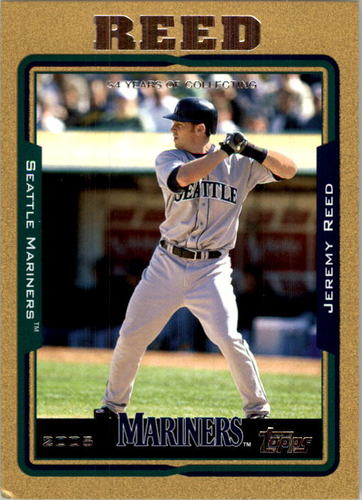 Photo of 2005 Topps Gold #457 Jeremy Reed