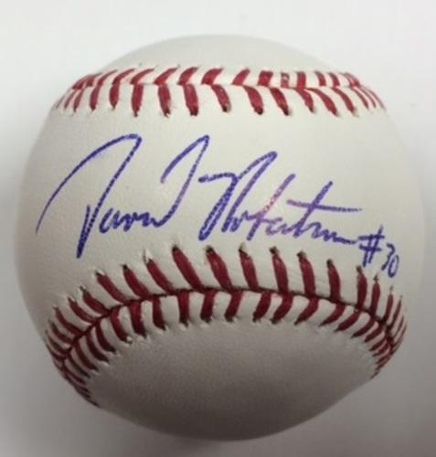 David Robertson Autographed Baseball