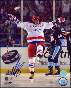 Alexander Ovechkin Washington Capitals Autographed 2011 Winter Classic 8x10 Photo