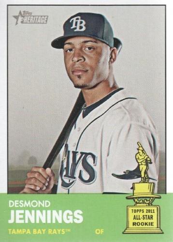 Photo of 2012 Topps Heritage #195 Desmond Jennings