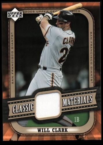 Photo of 2005 Upper Deck Classics Materials #WC Will Clark Pants