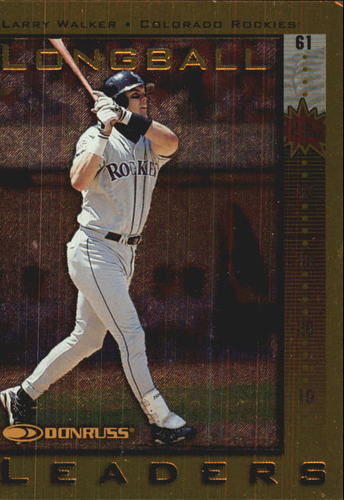 Photo of 1998 Donruss Longball Leaders #23 Larry Walker