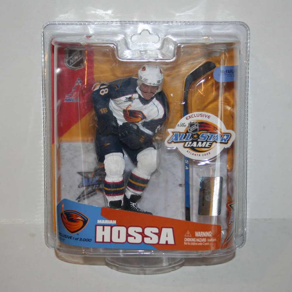 Marian Hossa 2008 NHL All-Star Game Exclusive McFarlane Figurine (Chicago Blackhawks)