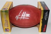 NFL - BUCCANEERS VERNON HARGREAVES SIGNED AUTHENTIC FOOTBALL