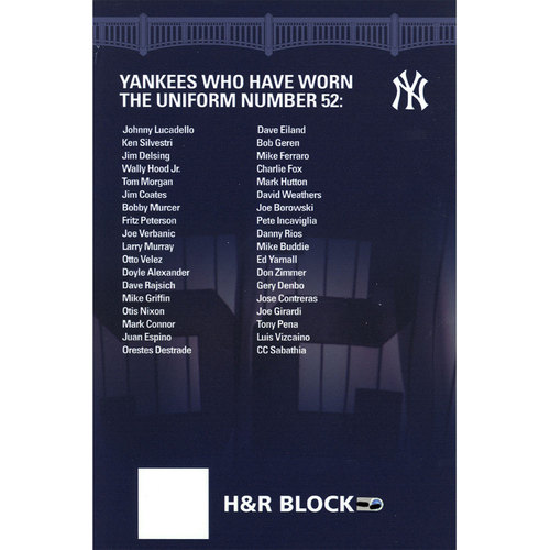 Photo of Yankee Stadium Suite Level Sign #52