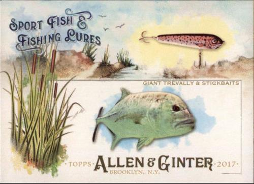 Photo of 2017 Topps Allen and Ginter Sport Fish and Fishing Lures #SFL14 Giant Trevally