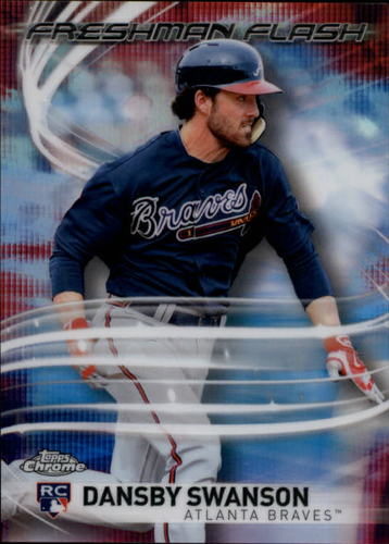 Photo of 2017 Topps Chrome Freshman Flash #FF18 Dansby Swanson