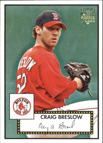 Photo of 2006 Topps 52 #214 Craig Breslow Rookie Card -- Indians post-season
