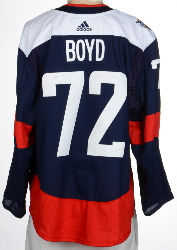 Travis Boyd Washington Capitals Player-Issued 2018 NHL Stadium Series Jersey