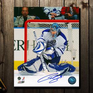 Curtis Joseph Toronto Maple Leafs Big Save Autographed 16x20
